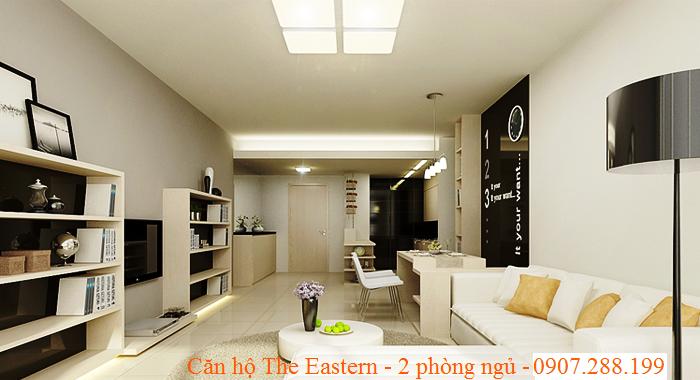 PHỐI CẢNH CĂN HỘ THE EASTERN QUẬN 9 2 PHÒNG NGỦ