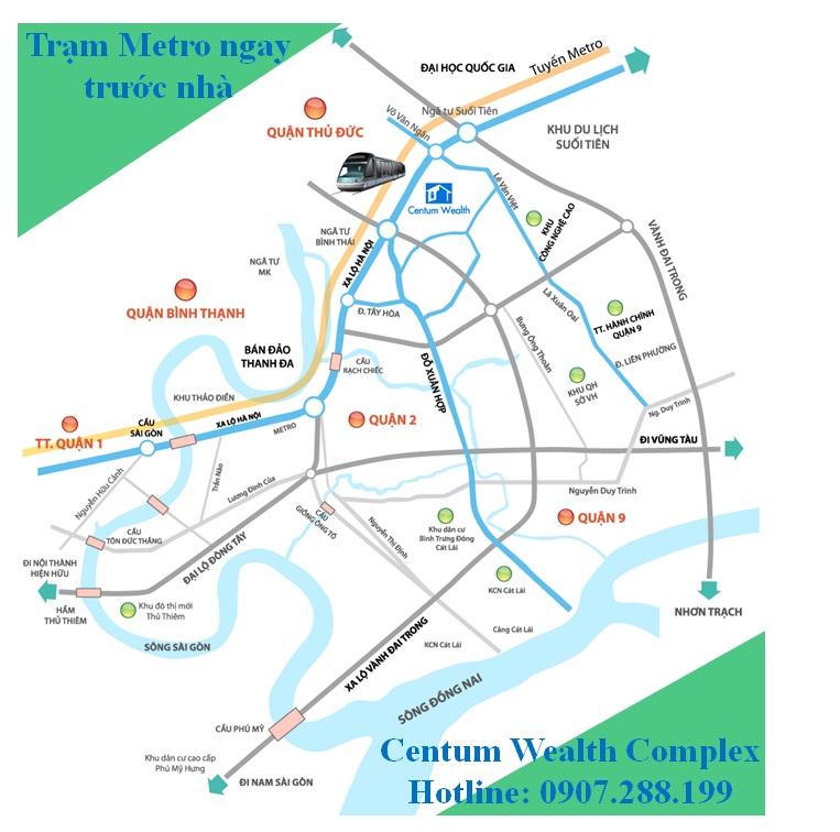 căn hộ Centum Wealth Complex quận 9 được phân phối chính từ chủ đầu tư Daewon Thu Duc
